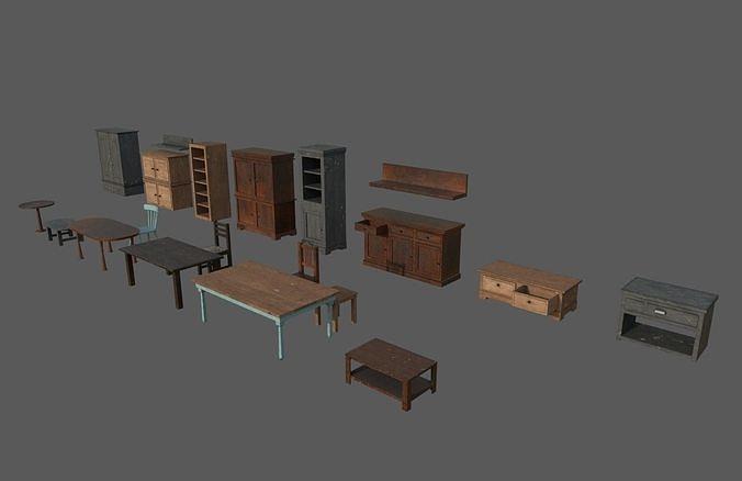 Old Living Furniture
