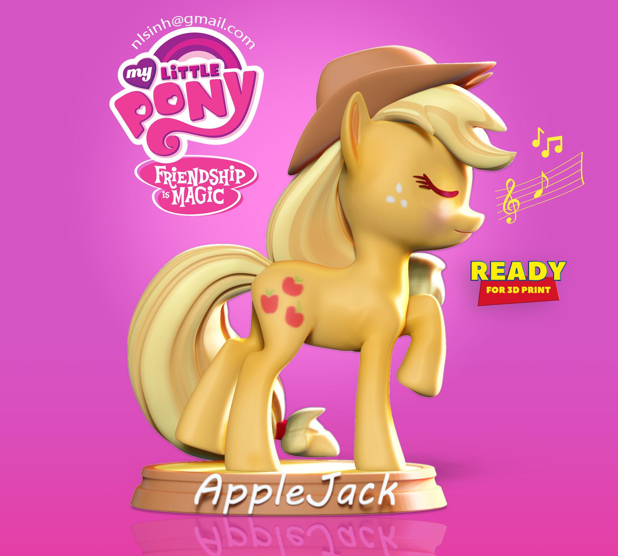AppleJack - Little Pony Fanart