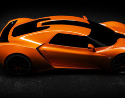 3D Trion Nemesis 2016 Supercar