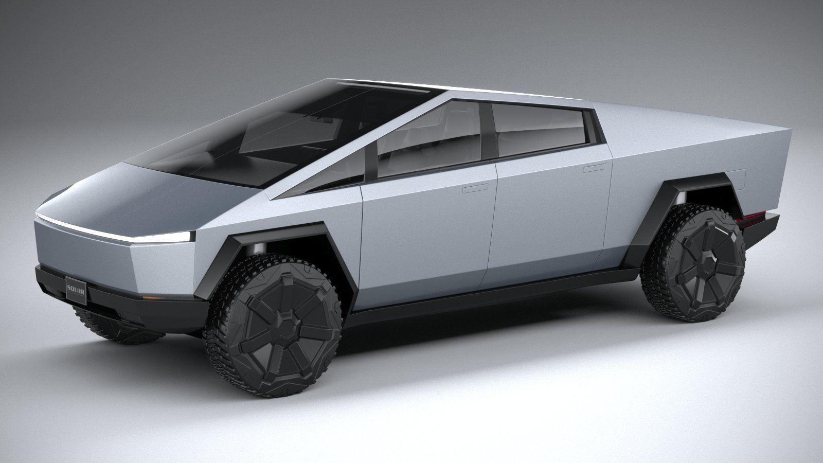 Tesla Cybertruck 2022 3D model | CGTrader
