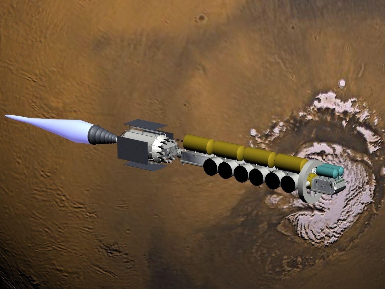 Mars-ship 3D Model .max .obj .3ds - CGTrader.com