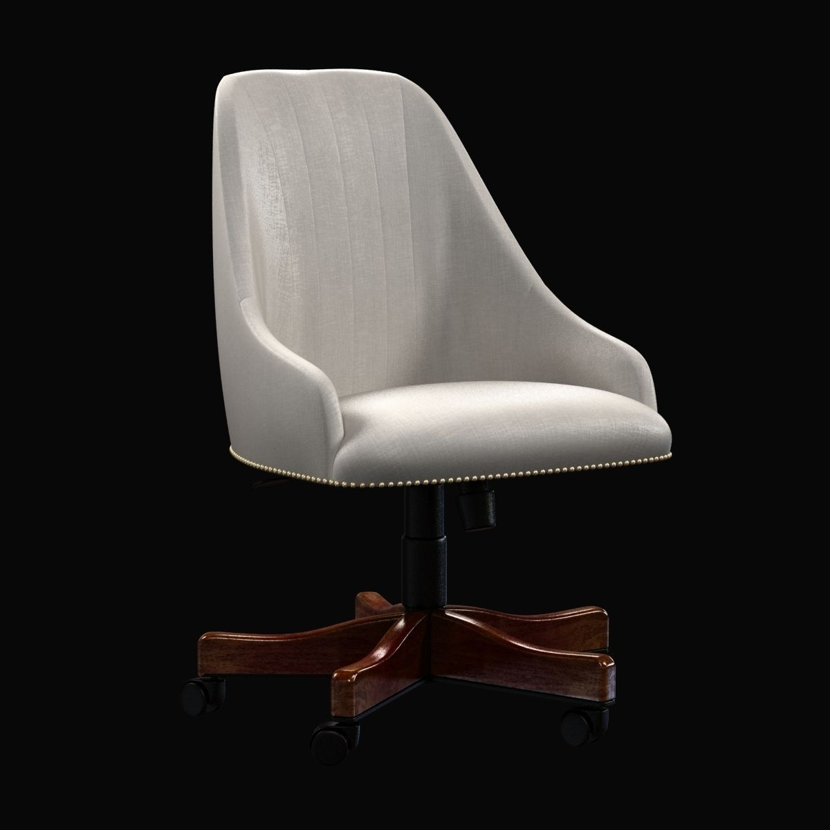 MAXIMUS OFFICE CHAIR beige by zuo modern furniture 3D model MAX ...
