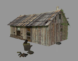 3D asset The Shed