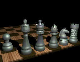 Printable Pocket Chess Deluxe