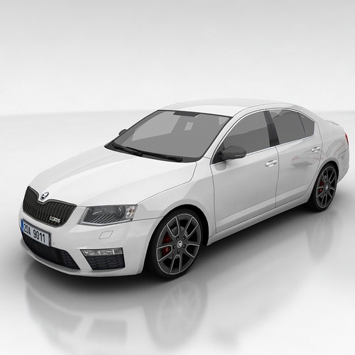 Skoda Octavia 3 RS liftback3D model