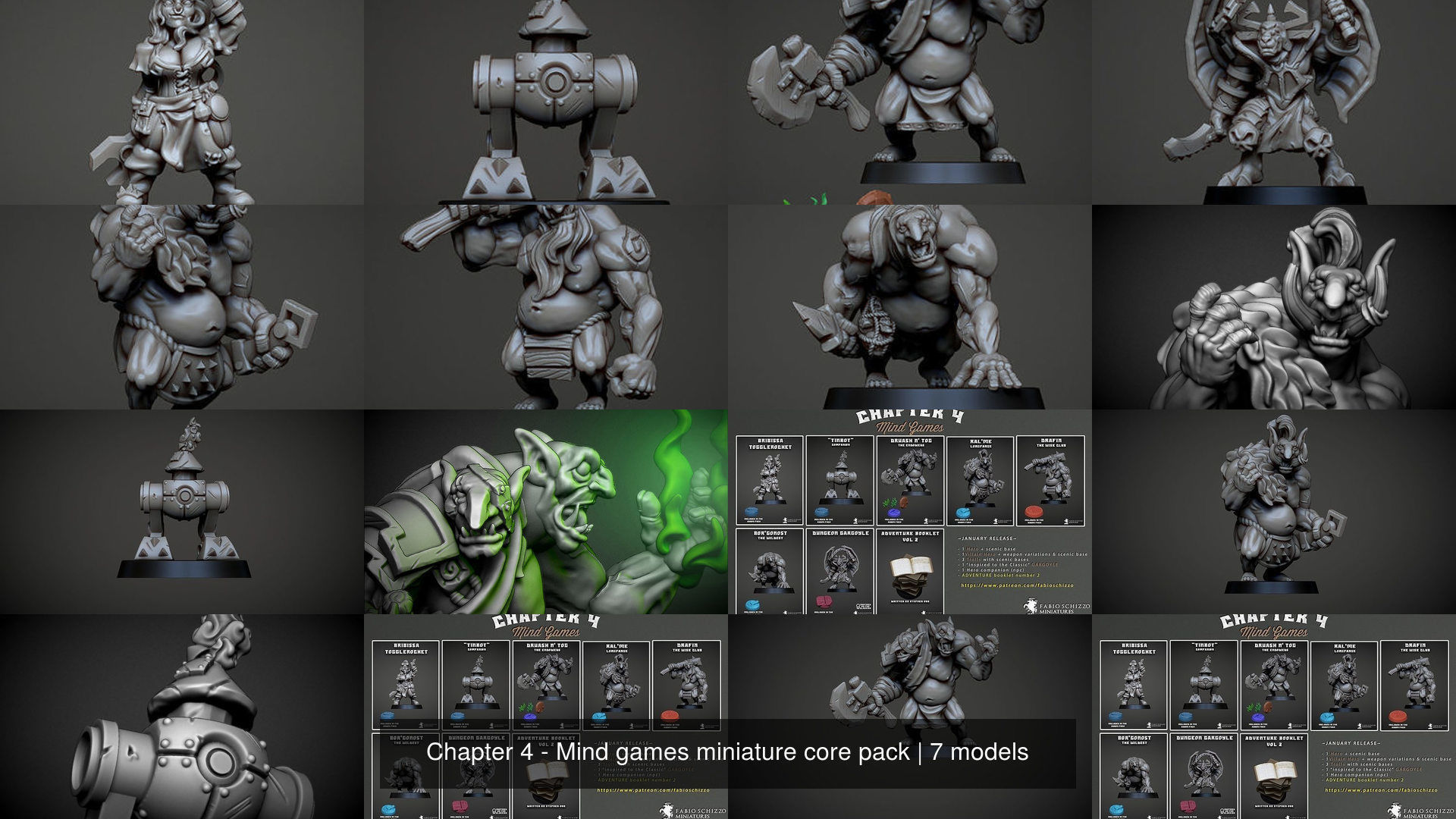 Chapter 4 - Mind games miniature core pack