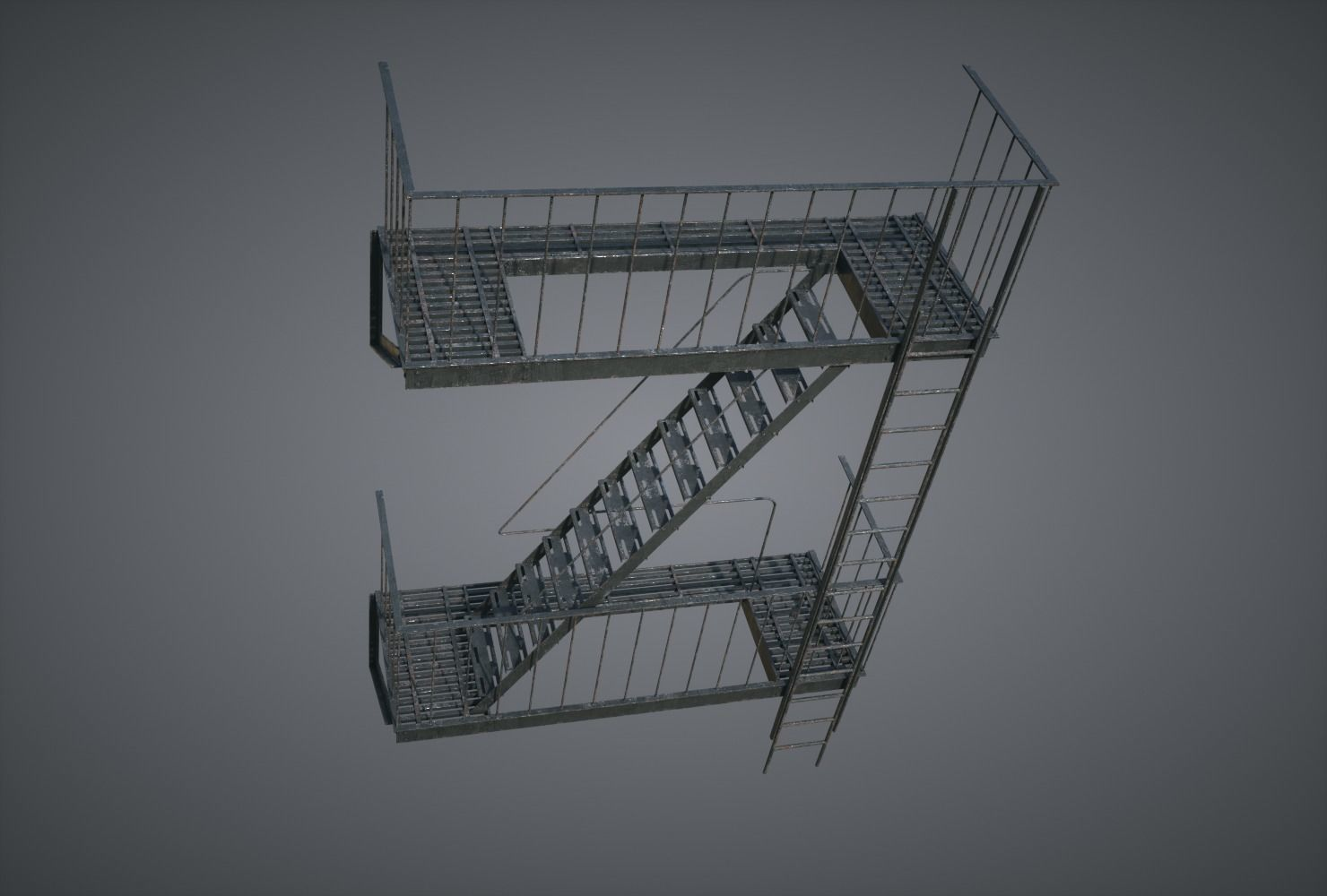 Fire Stairscase