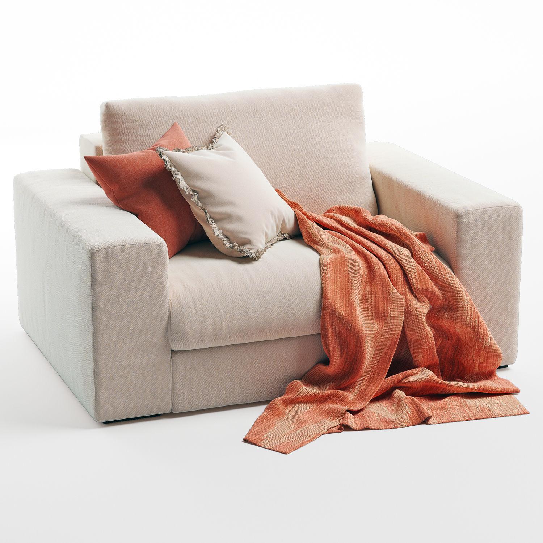 Grande Plain Armchair