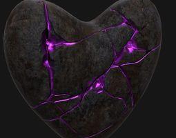 3D model Broken Heart 2