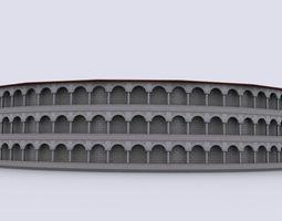 Gladiatorial arena 3D Model