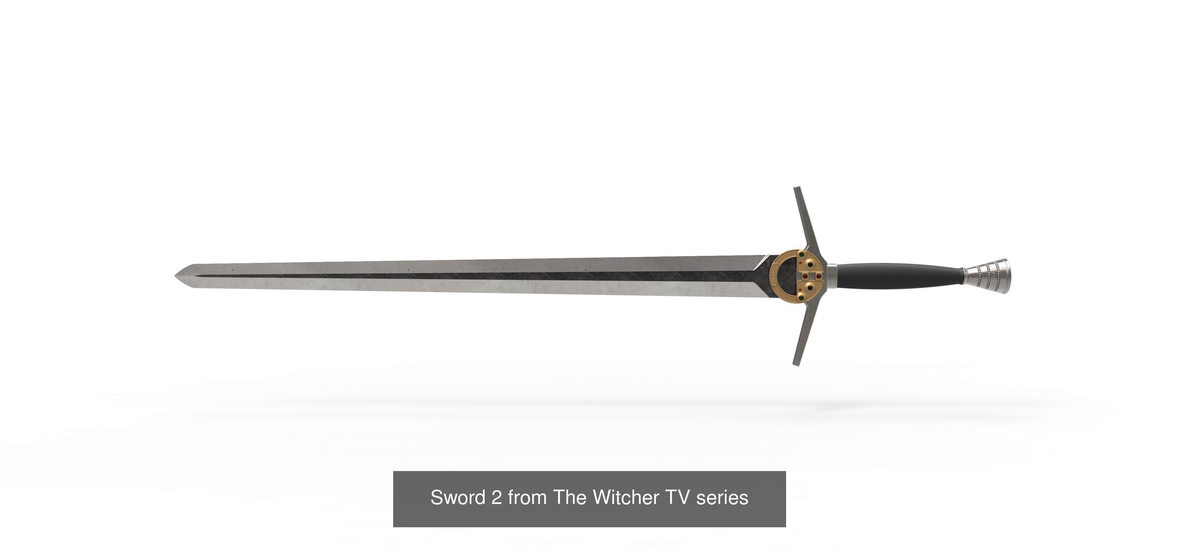 Swords of Geralt from The Witcher TV series