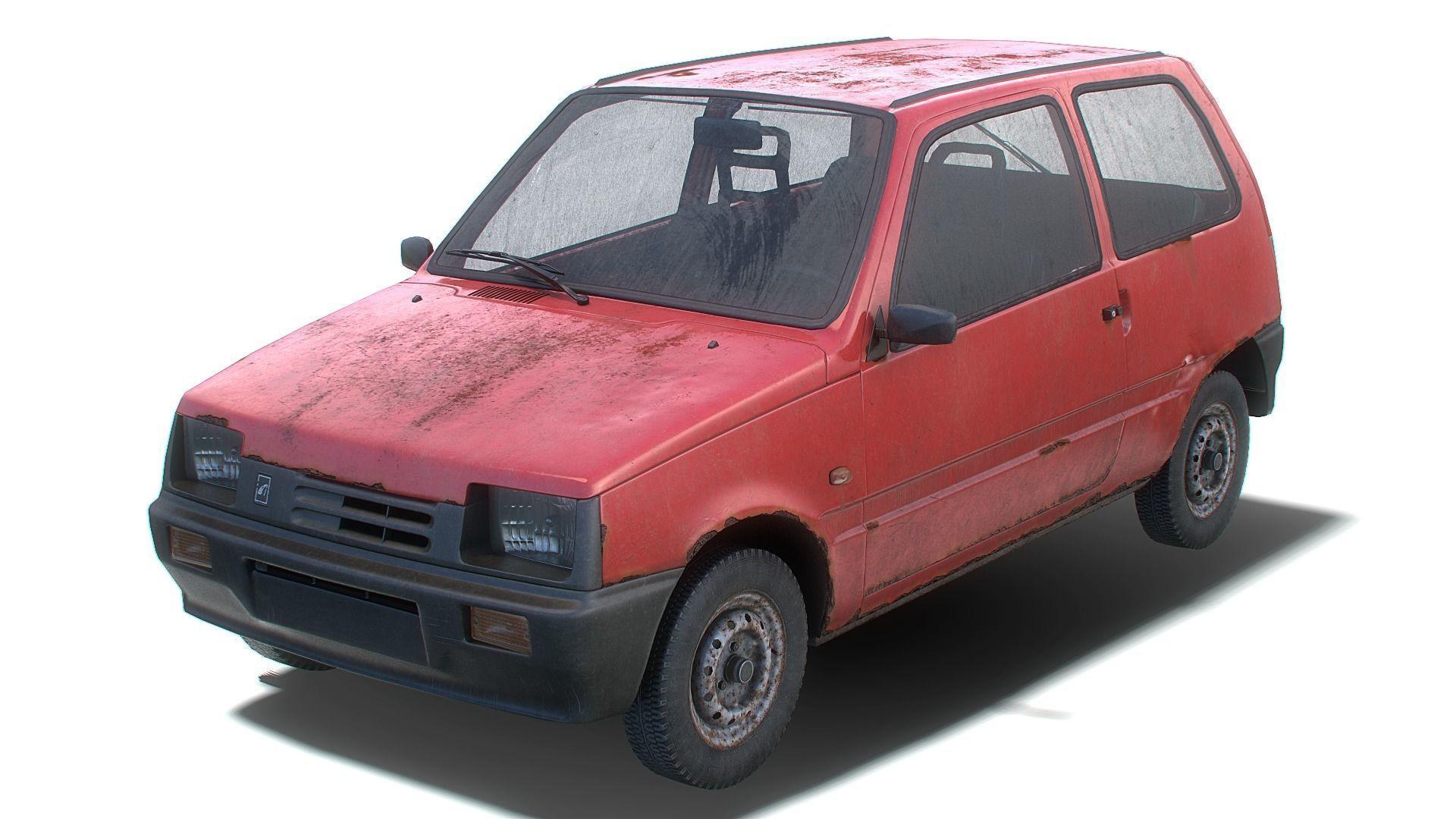 Old Generic Hatchback Set