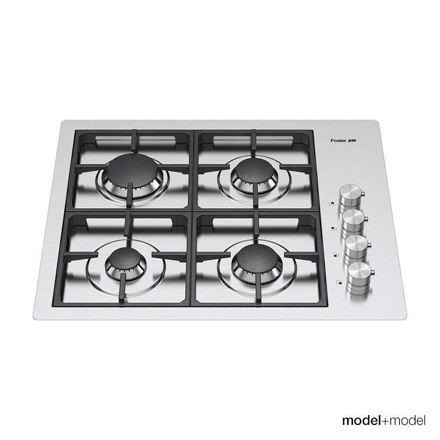 Uncategorized Foster Kitchen Appliances foster gas cooktops 3d model max obj fbx mat 4