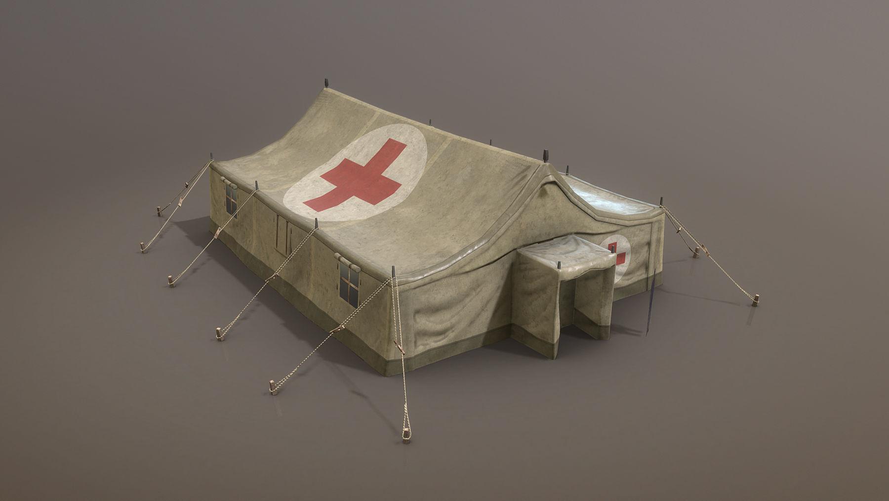Military Tent 01 MedicalDesert