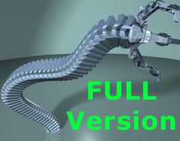 Robot Mechanic Arm - Full 3D Model