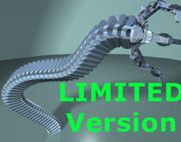Robot Mechanic Arm - Limited 3D Model
