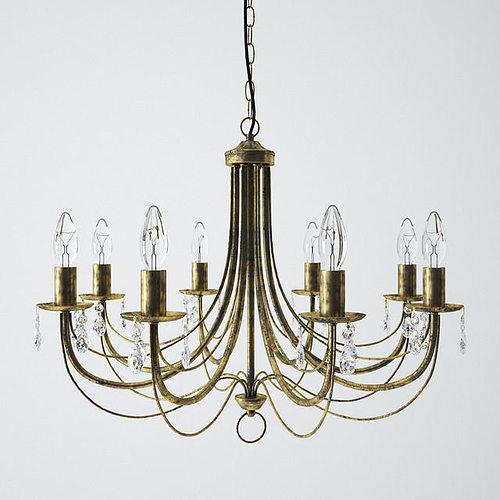 vitaluce chandelier v12538 3d model max obj mtl fbx 1