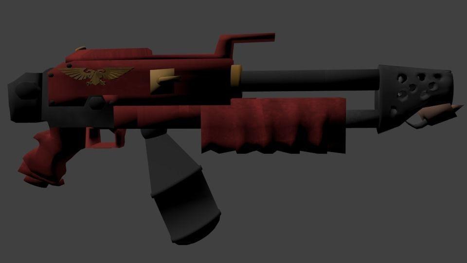 flammer warhammer 40000   3D model