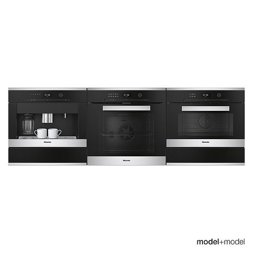 miele appliances 3d model max obj fbx mat 1
