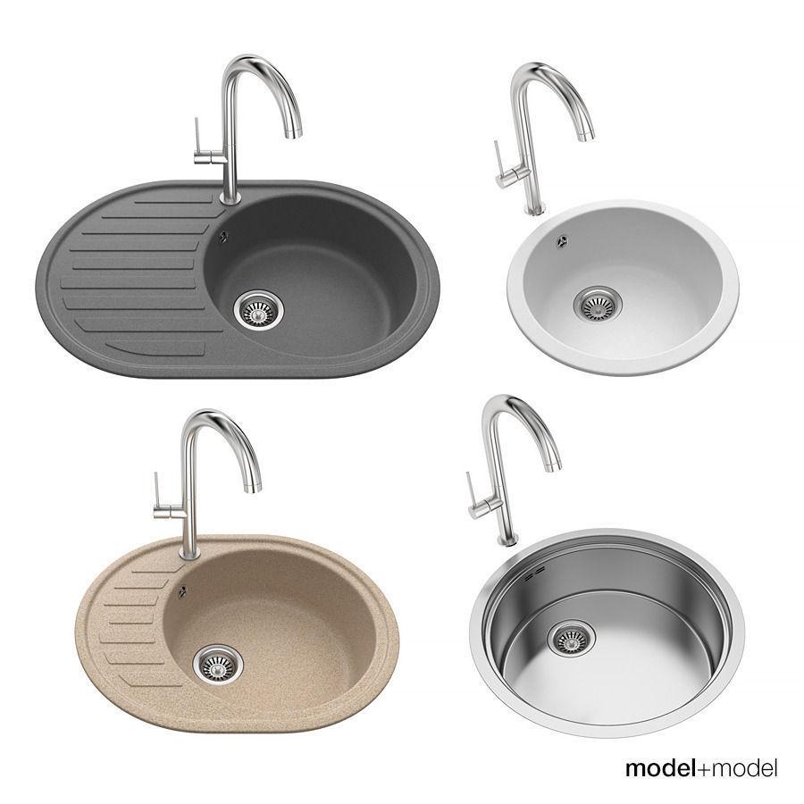 Round sinks