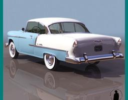 CHEVROLET BEL AIR 1955 2227 3D Model