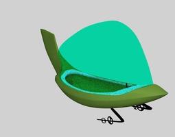Jetsons Space Ship 3D model