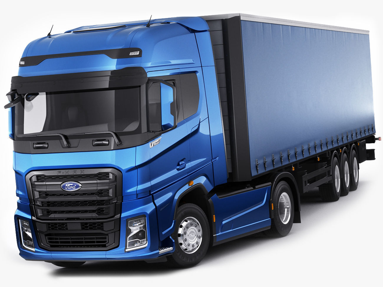 F-max 2019 truck with trailer