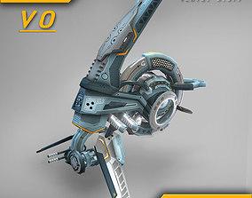 3D model Drone V0 Cybertech - ANIMATED