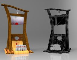guillotine 3dmax  realtime
