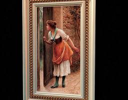 3d women painting 52