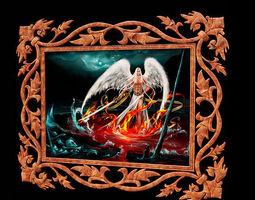 ornament frame 16 3d model