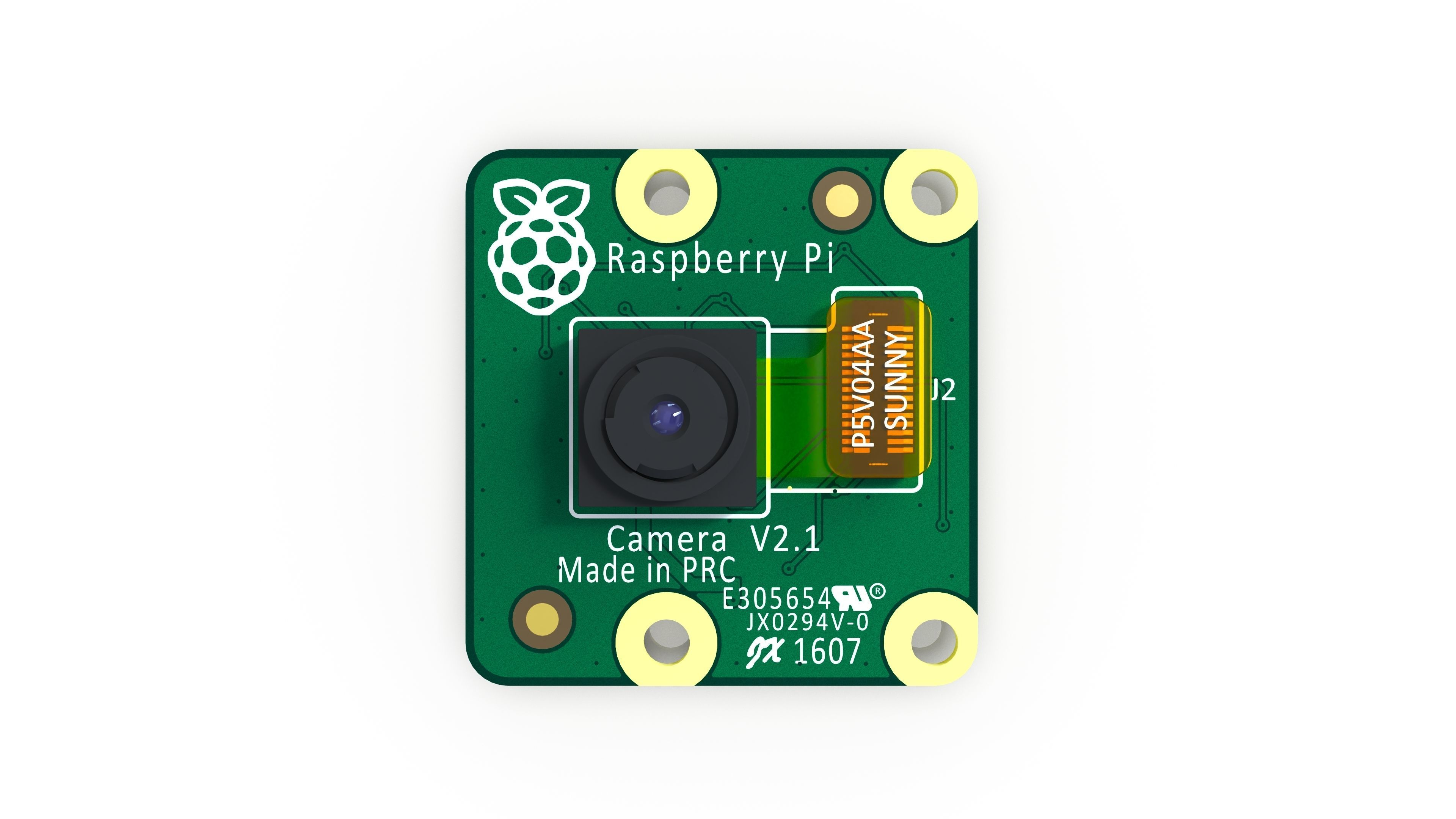 Raspberry Pi Camera module V2 - Reverse engineering