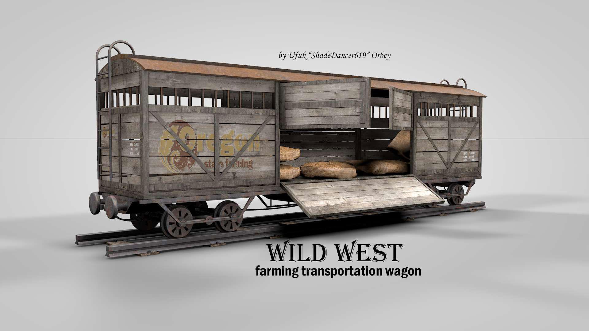 Wild West Farming Wagon