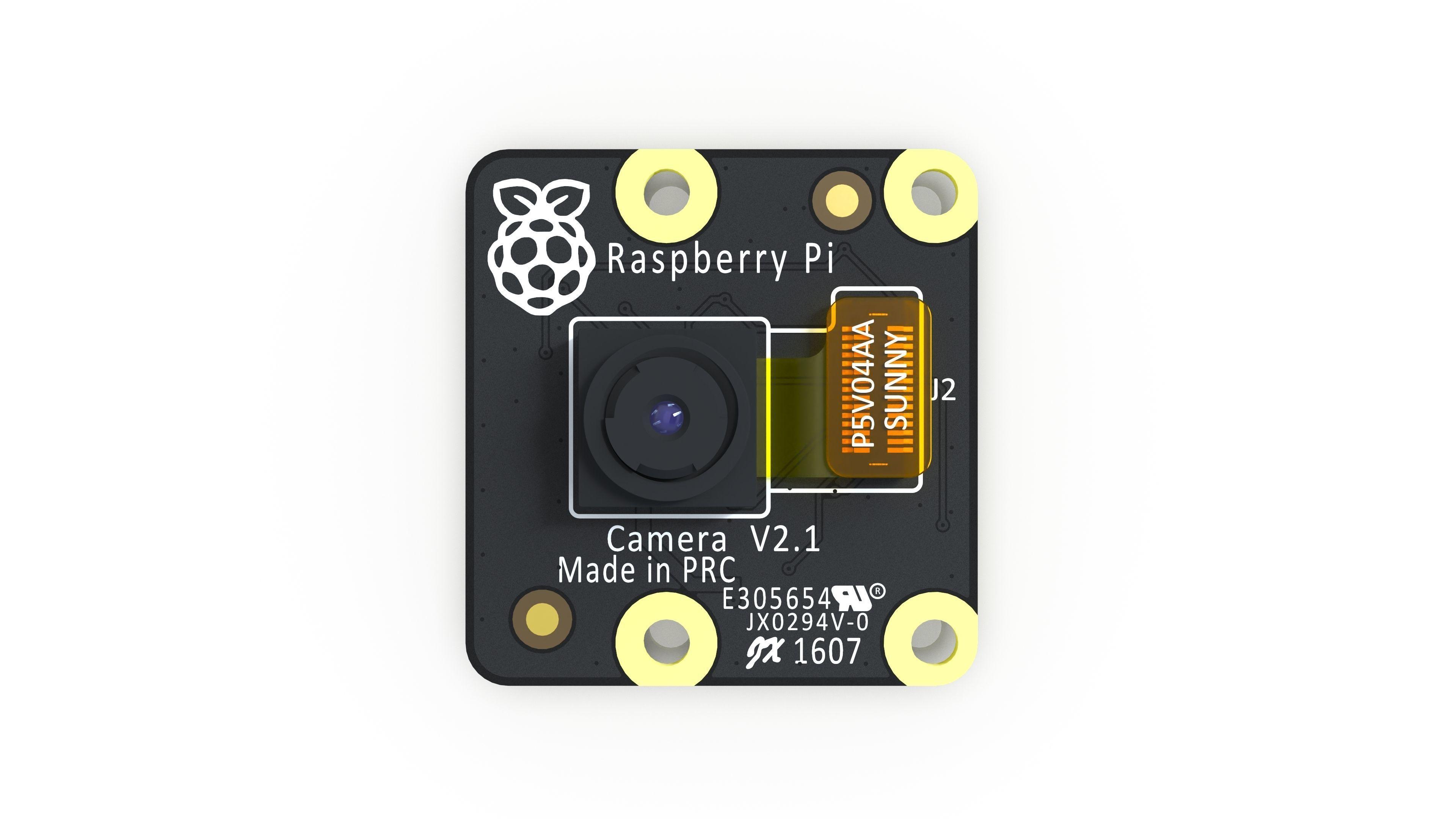Raspberry Pi Camera module V2 Pi NoIR - Reverse engineering