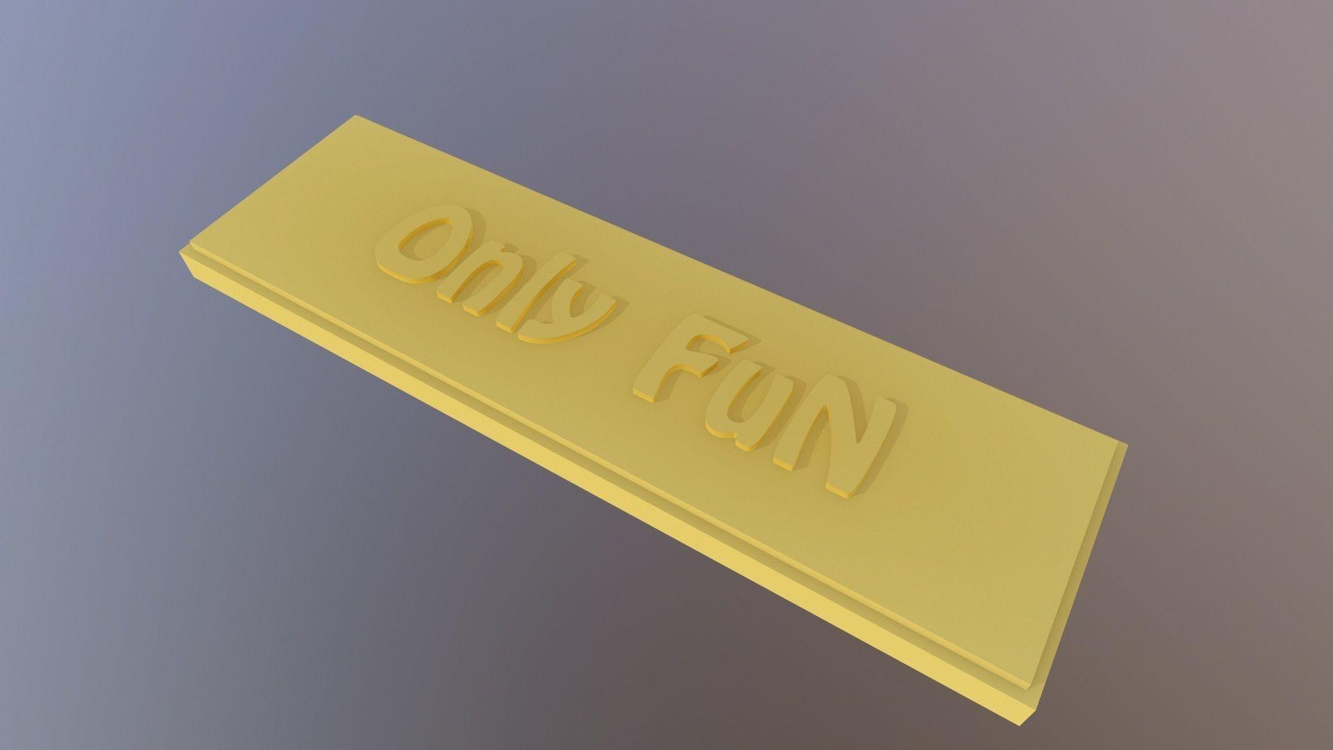 OnlyFun label