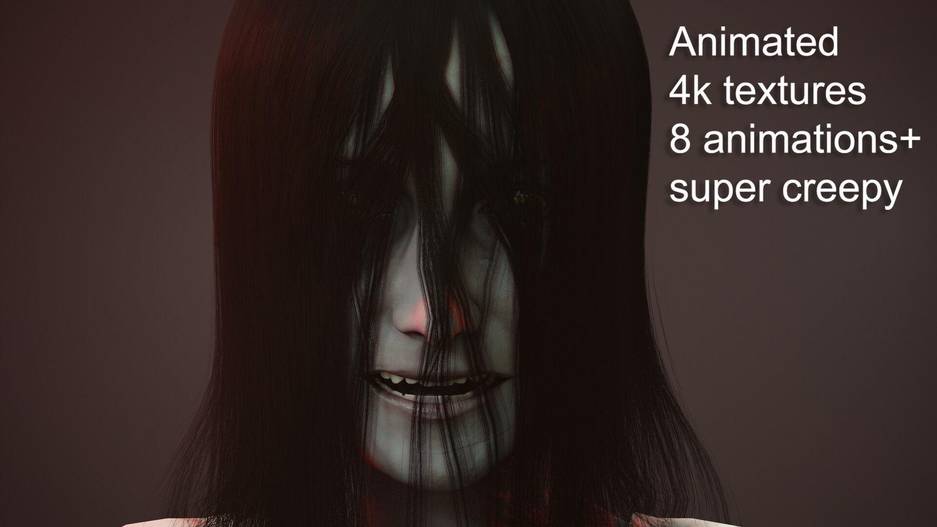 Creepy Ghost Girl
