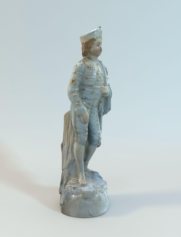 Decorative old lord statue 3d model max obj tga - Statue decorative d interieur ...