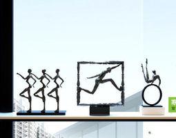 decoration Sculpture 3D