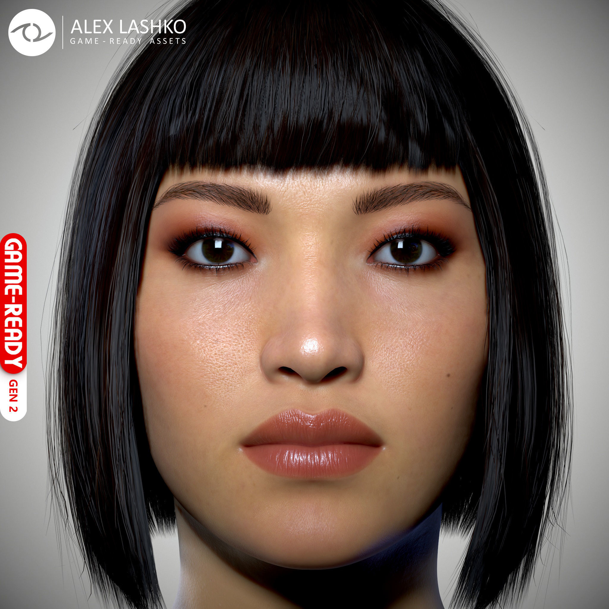 Female Head - Iva - Gen2