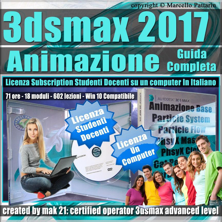Corso 3ds max 2017 Animazione Guida Completa Studenti