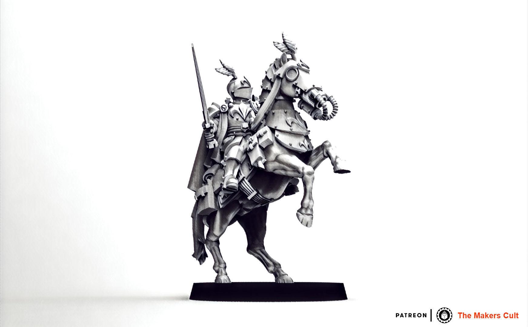 Feudal Guard High Born Cavalry Officer