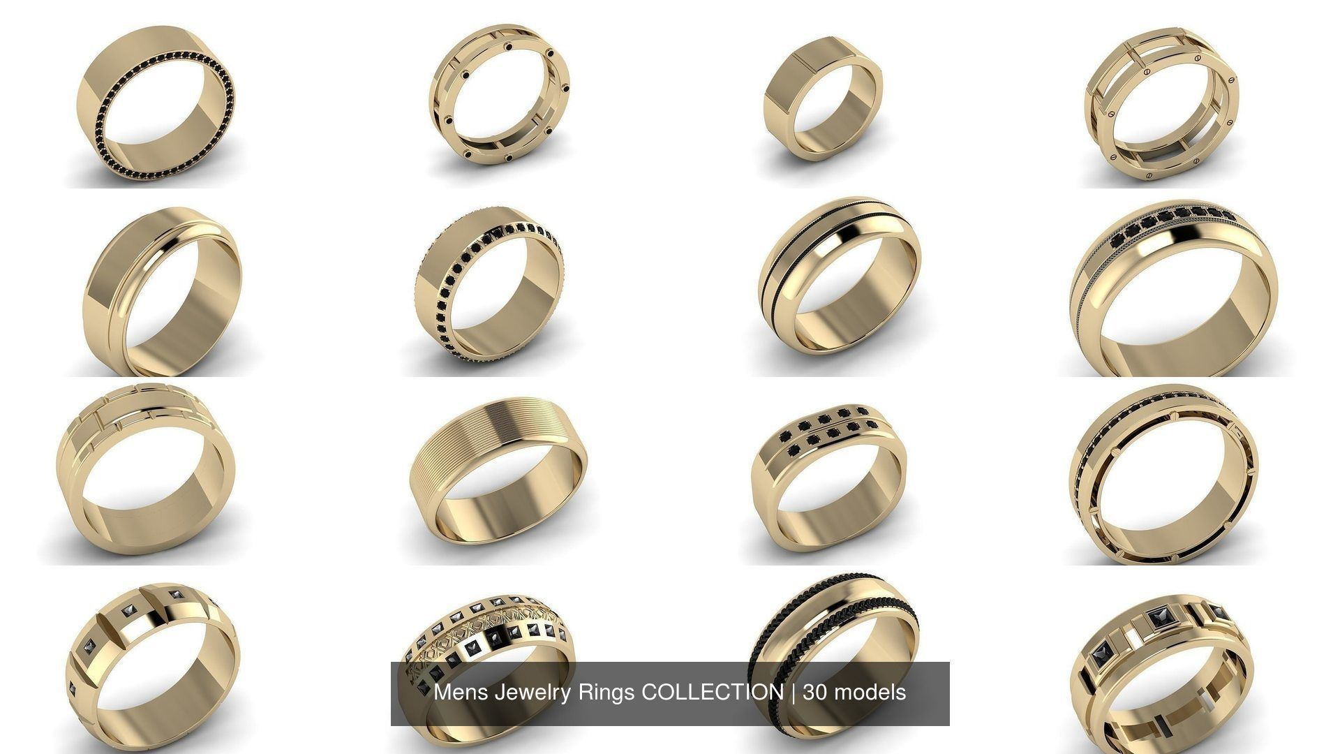 Mens Jewelry Rings COLLECTION
