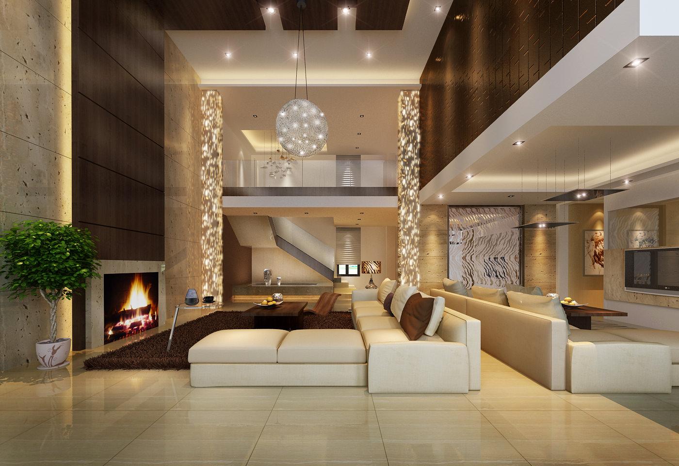 Living room 3d model max for Living room 3d max
