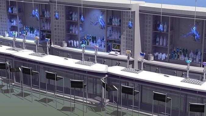 Nightclub Laser Bar