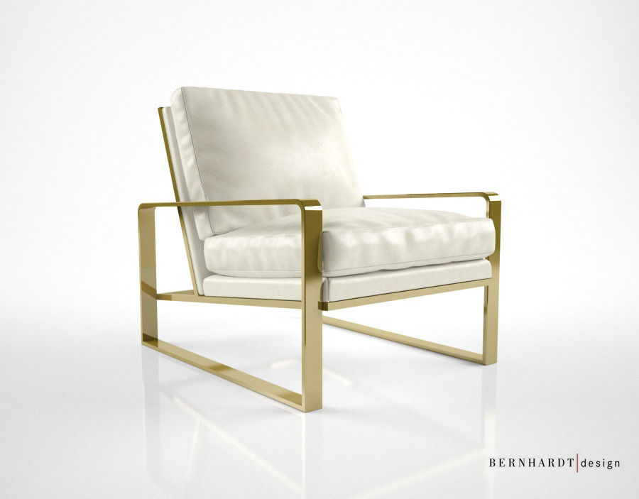Bernhardt design dorwin chair 3d model max for Furniture 3d design