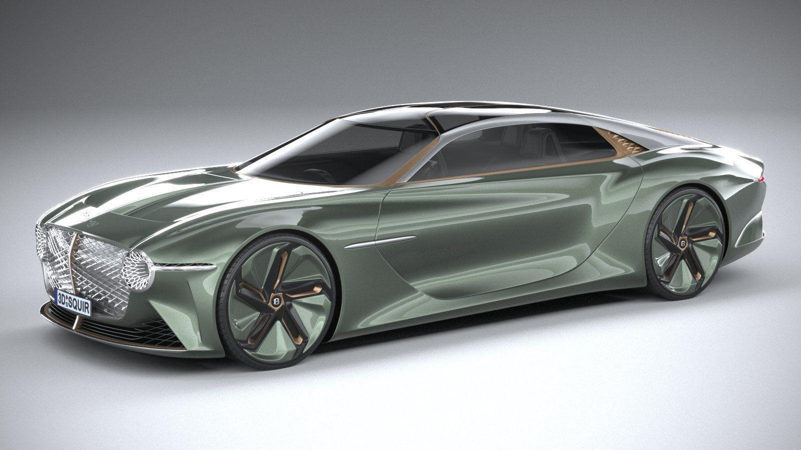 Bentley EXP 100 GT Concept 2019