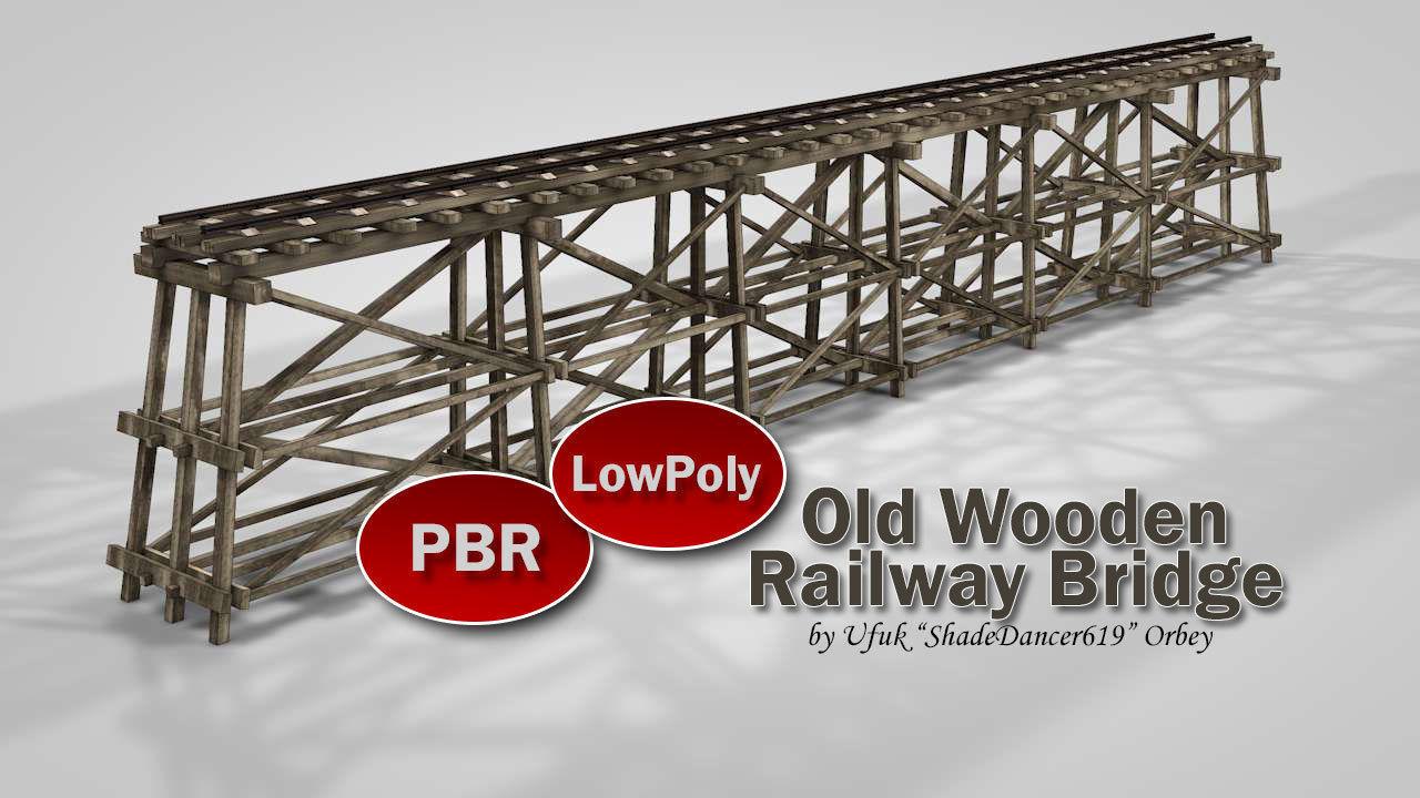 Old Wooden Railway Bridge