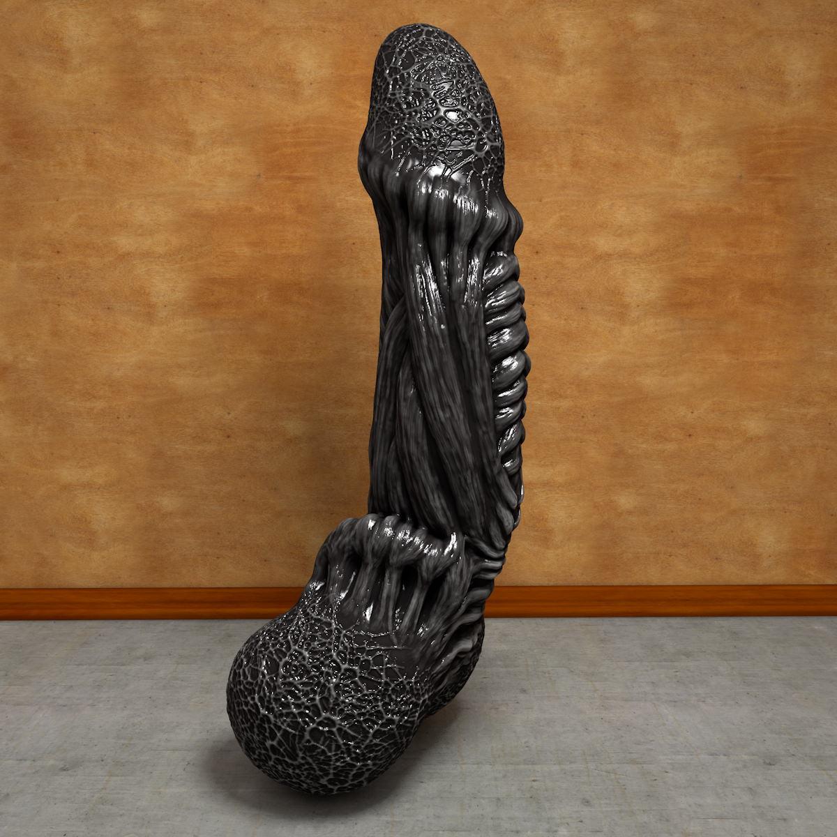 Alien dick monster erotic movie