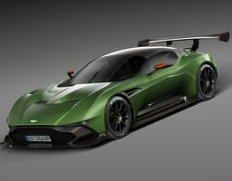 Aston Martin Vulcan 2016 3D Model