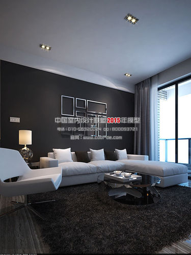 luxury minimalist interior design living r 3d model max cgtrader